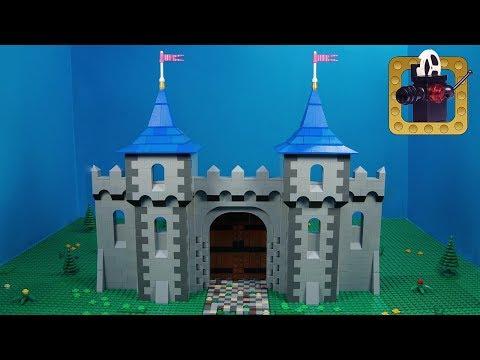 Building Grimm's Castle | E01 The Gate | Lego Speedbuild
