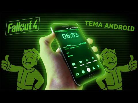 Tema de Pip-Boy para Android | Mejor tema del 2015