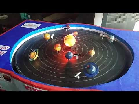 Solar System - School Project (Model)