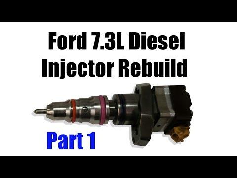 Ford 7.3 Diesel Injector Rebuild (1 of 2)