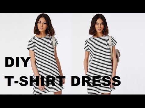DIY | HOW TO MAKE A T-SHIRT DRESS (pattern available)