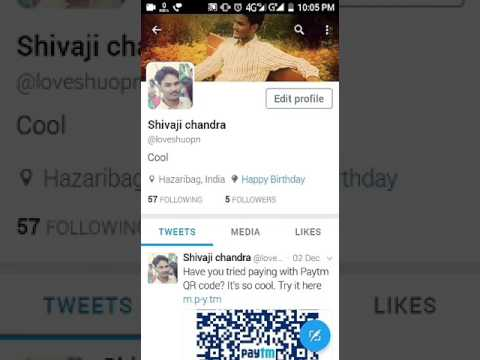 #Birthday wishes by Twitter....
