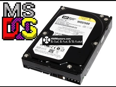 Creating Bootable USB and HDD with DOS | HWMasters.com