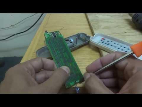 Remote control repair.