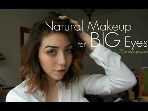 Natural Makeup for Big Eyes, feat. Freerise