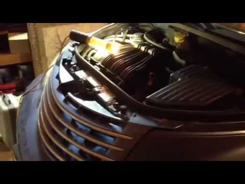 Pt Cruiser timing belt change (part 1)