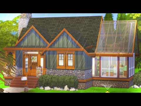 THE CRAFTSMAN COTTAGE | THE SIMS 4 // SEASONS SPEED BUILD