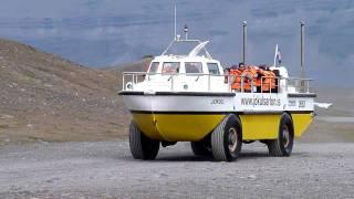 LARC 5 amphibious vehicle