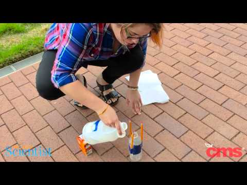 Make an Acid/Base Rocket with CMS and Project Scientist!