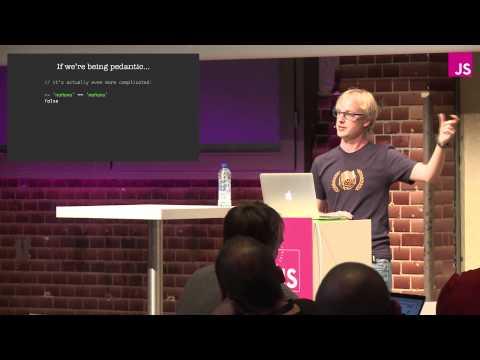 Mathias Bynens: JavaScript ♥ Unicode