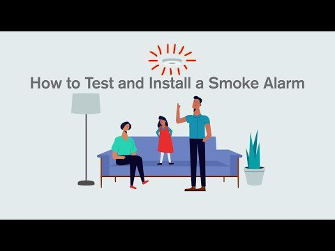 How to Test and Install a Smoke Alarm