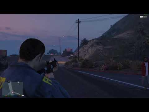Grand Theft Auto V l Stupid AI