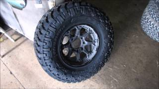 Dodge 2500 With 35 12.5 17 Tires