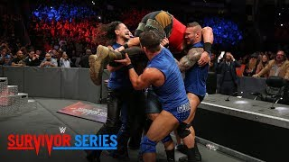 Survivor Series 2017: RELIVE Raw & SmackDown Superstars facing off on WWE Network!
