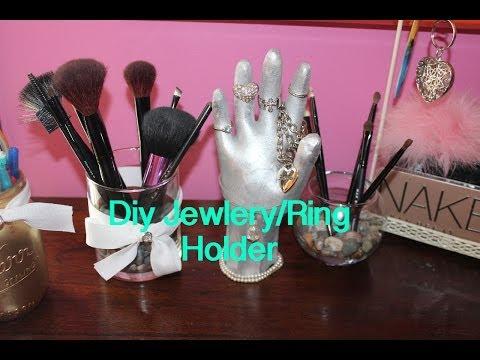 DIY Hand Jewelry/Ring Holder!