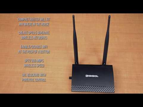 DG-HR3400 Router Setup Guide