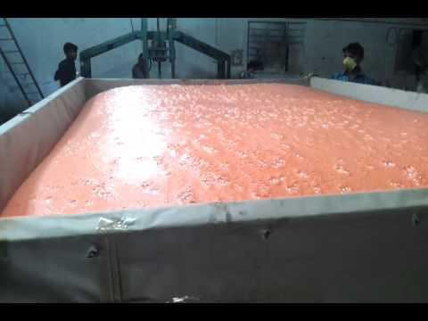 Manufacturing of PU FOAM