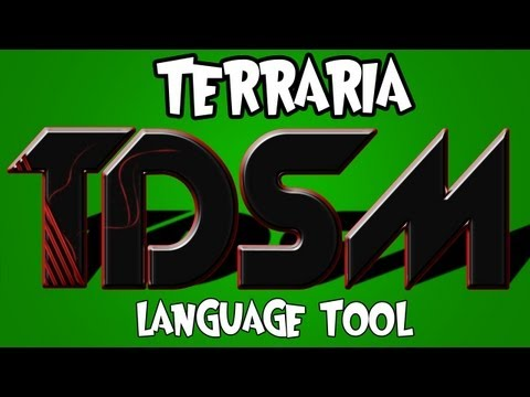 Terraria - Using the Language Tool with Terraria Dedicated Server Mod (TDSM) on Windows + Linux