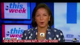 Benghazi Liar Susan Rice: Trump