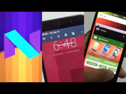 Install Android 7.0 Nougat On Any Device! [Root Required]