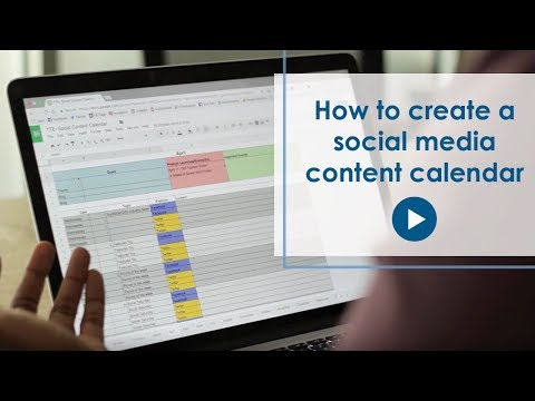 How To Create a Social Media Content Calendar In Excel [FREE Template]