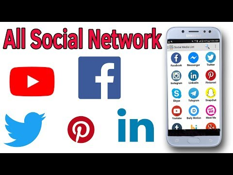 All Social Networks All Social Networks in One App With Helping Mind