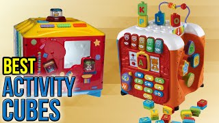 CLICK FOR WIKI ►► https://wiki.ezvid.com/best-activity-cubes Please Note: Our choices for this wiki may have changed since we published this review video. Our most recent set of reviews in this category is exclusively available on Ezvid Wiki. Activity cubes included in this wiki include the wolvol musical play center, everearth garden, alex jr. my busy town, b. zany zoo, my first learning bead maze, hape country critters, vtech alphabet activity, manhattan toy adventure, alex jr. woodland wonders, and fisher-price incrediblock. Most Recent Picks: https://wiki.ezvid.com/best-activity-cubes
