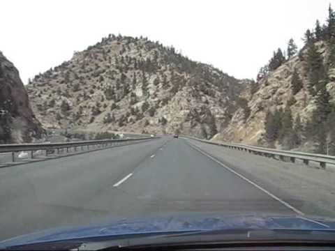 Driving from Denver to Vail
