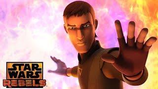 Jedi Night: The Death of Caleb Dume | Star Wars Rebels | Disney XD