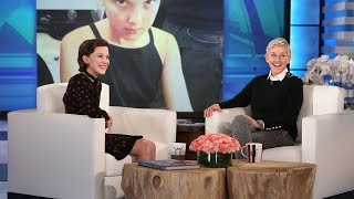 Millie Bobby Brown Makes Her Ellen Debut