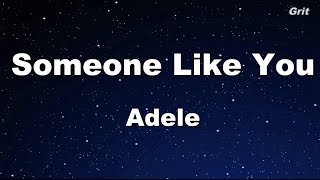 Someone Like You  Adele Karaokeno Guide Melody