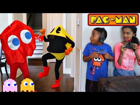 PAC-MAN vs Shiloh and Shasha - Onyx Kids