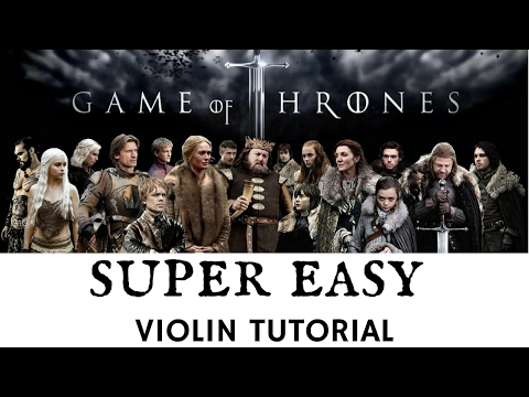 LEARN TO PLAY VIOLIN IN 5 MINUTES | GAME OF THRONES | EASIEST EVER TUTORIAL