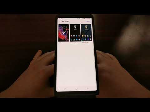 Galaxy Note 9 | Installing a Samsung Theme