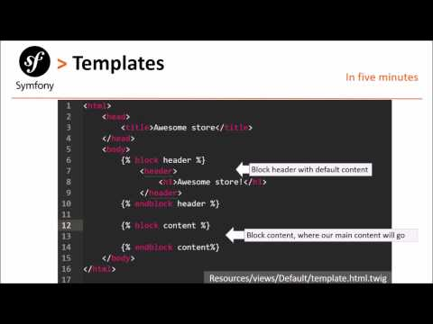 Symfony 2 # Episode 4: twig templates and views
