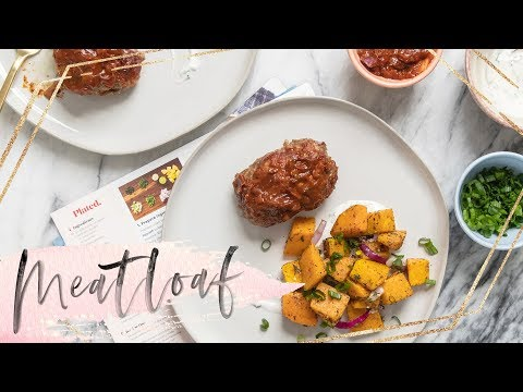 EASY MEATLOAF Dinner Meal Kit from PLATED