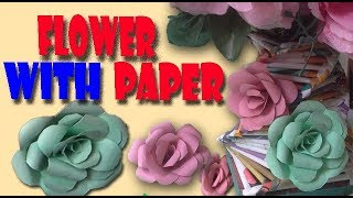 How To Make Paper Flowers 🌺 decorating rooms 🌺 decorating events 🌺 weddings