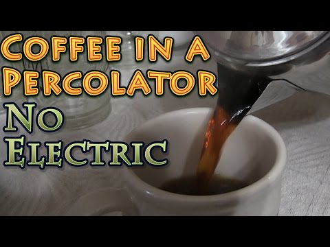 How to Make  Coffee in a Percolator