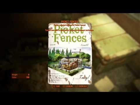 Fallout 4 Picket Fences issue 1 House of today tomorrow location