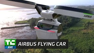 Airbus reveals flying car concept