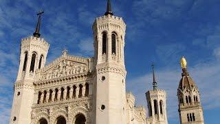 Basilica of Notre-Dame de Fourvière, Lyon, Rhône-Alpes, France, Europe