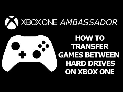 How to transfer games between internal/external Hard drives (HDD) Xbox One | Xbox Ambassador Series