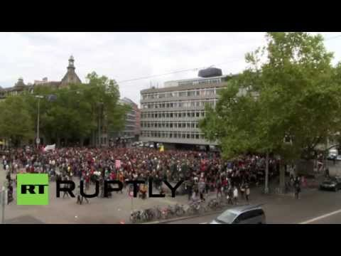 Switzerland: Protesters call for open borders and scrapping Dublin regulations