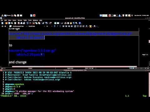 Java GUI Crash Openbox Fix Arch GNU / Linux