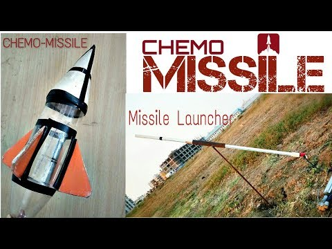 CHEMO MISSILE ll HOW TO MAKE BOTTLE MISSILE ll WATER MISSILE - CHEMO U-Tube