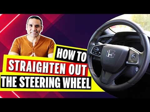 How to straighten out the wheel