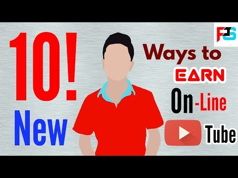 10 New Ways To Earn On YouTube / INTERNET 😊 Must Watch 👌