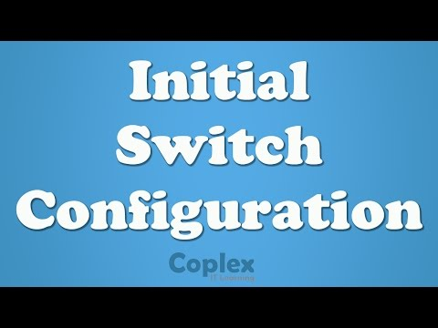How to Cisco Switch Configuration