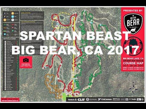 So Cal Spartan Beast 2017 (All Obstacles) Big Bear, CA