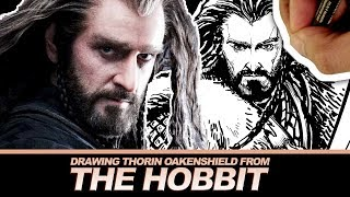 Drawing The Hobbits Thorin Oakenshield